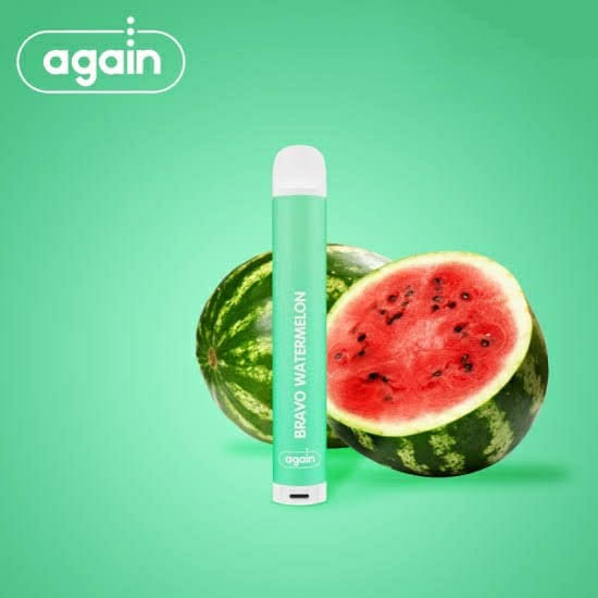 AGAIN -  DTL Bravo Watermelon Descartavel 2% nic 500 puffs