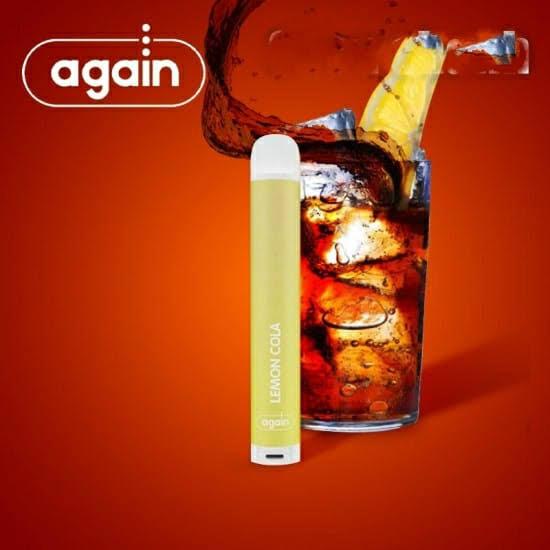 AGAIN -  DTL Lemon Cola Descartavel 2% nic 500 puffs