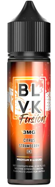 BLVK FUSION - Citrus Strawberry Ice 60ml
