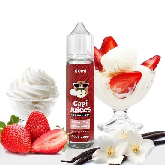 CAPI JUICES - Peter, the Strawberry  30 ml