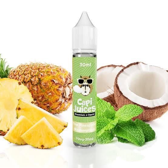 CAPI JUICES - The Pineapple Redemption 30ml