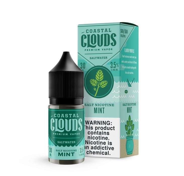 COASTAL CLOUDS - Mint Salt 30ml