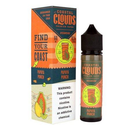 COASTAL CLOUDS - Papaya Punch 60ml