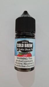 COLD BREW - Strawberry Ice  Salt 30ml