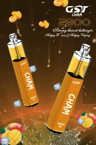 CÓPIA -  GST - Cham Pod Descartavel 7.5ml 5% 2800 puff - Pina Colada
