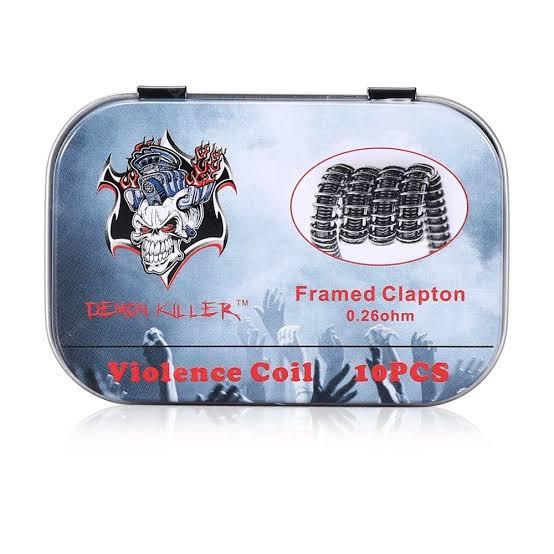 DEMON KILLER - Framed Clapton 0.26 ohms