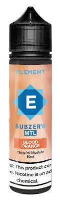 ELEMENT - Blood Orange SUBZERO 60ml