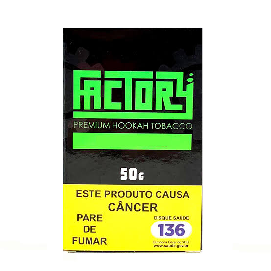 FACTORY - Blast Green 50g (P/ NARGUILE)
