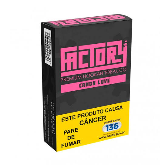 FACTORY - Candy Love 50g (P/ NARGUILE)