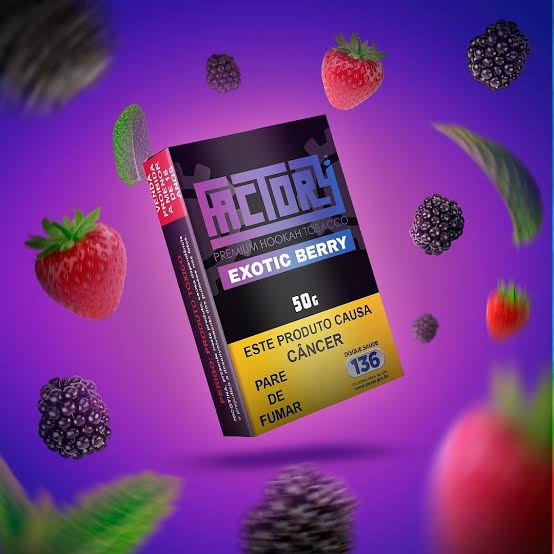 FACTORY - Exotic Berry 50g (P/ NARGUILE)