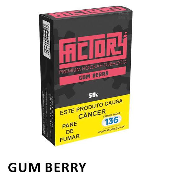 FACTORY - Gum Berry 50g (P/ NARGUILE)