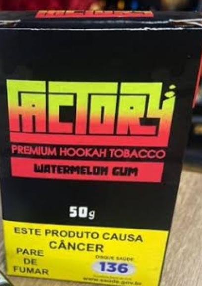 FACTORY - Watermelon Gun 50g (P/ NARGUILE)