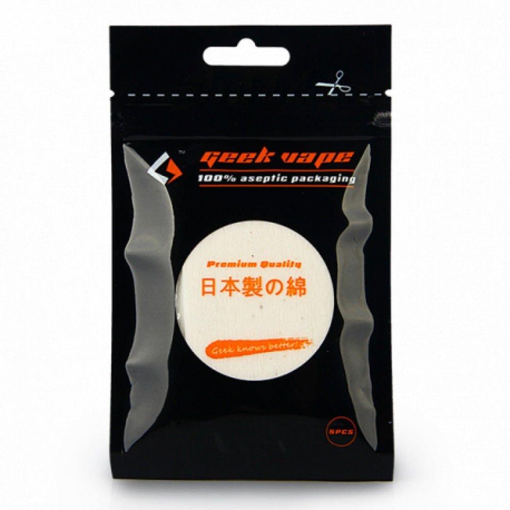 GEEK VAPE - Algodão Japonês 100% Orgânico