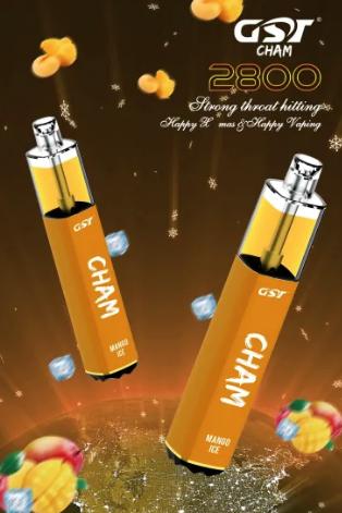 GST - Cham Pod Descartavel 7.5ml 5% 2800 puff - Mango