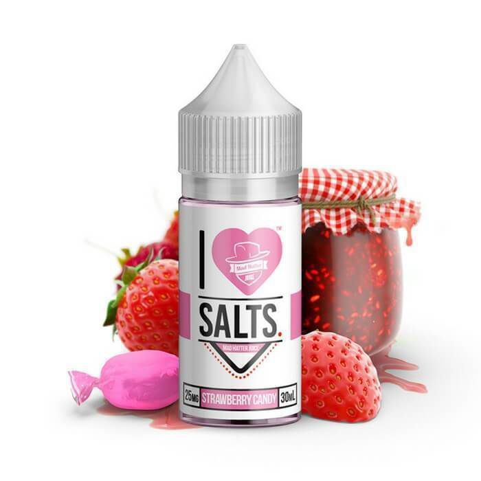 I LOVE SALT - Strawberry Sweet Salt 30ML