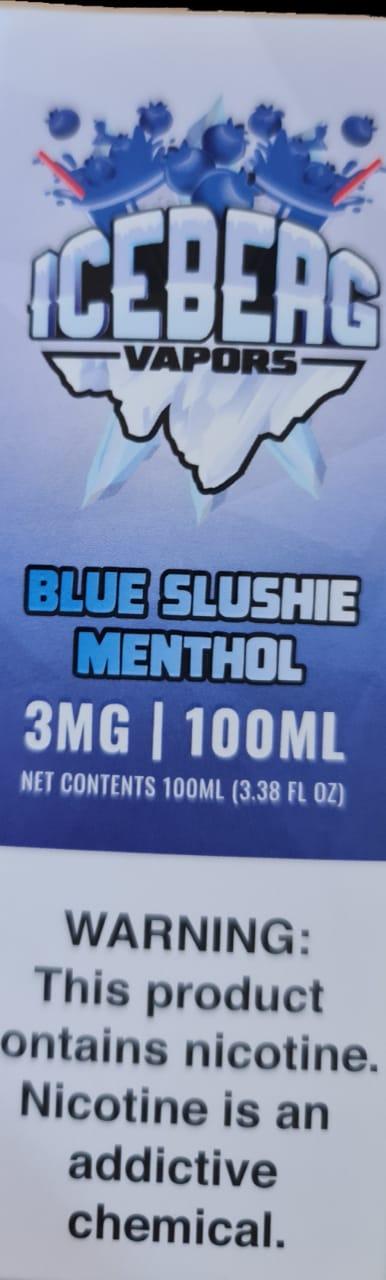 ICEBERG - Blue Slushie Menthol 100 ml