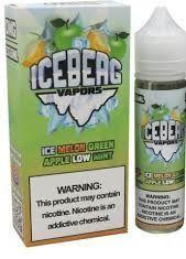 ICEBERG VAPORS - Ice Melon + Green Apple Low Mint 60ml