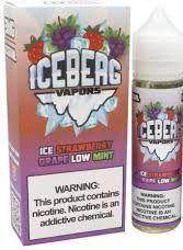 ICEBERG VAPORS - Ice Strawberry Grape Low Mint 60ml