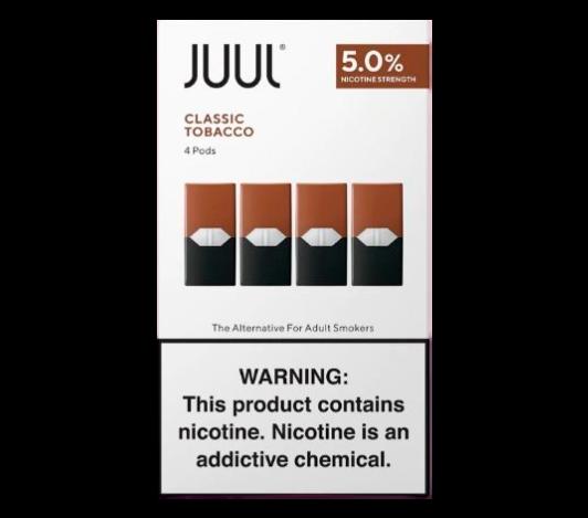 JUUL - Classic Tobacco (4pack)