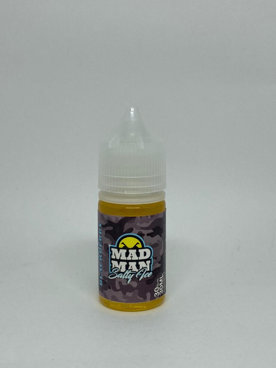 MAD MAN - Black Berry Salt 30ml