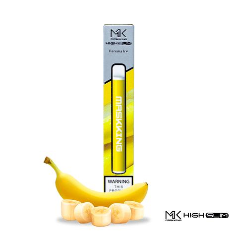 MASKKING HIGH SLIM - Banana Ice 4% NIC 350 PUFFS