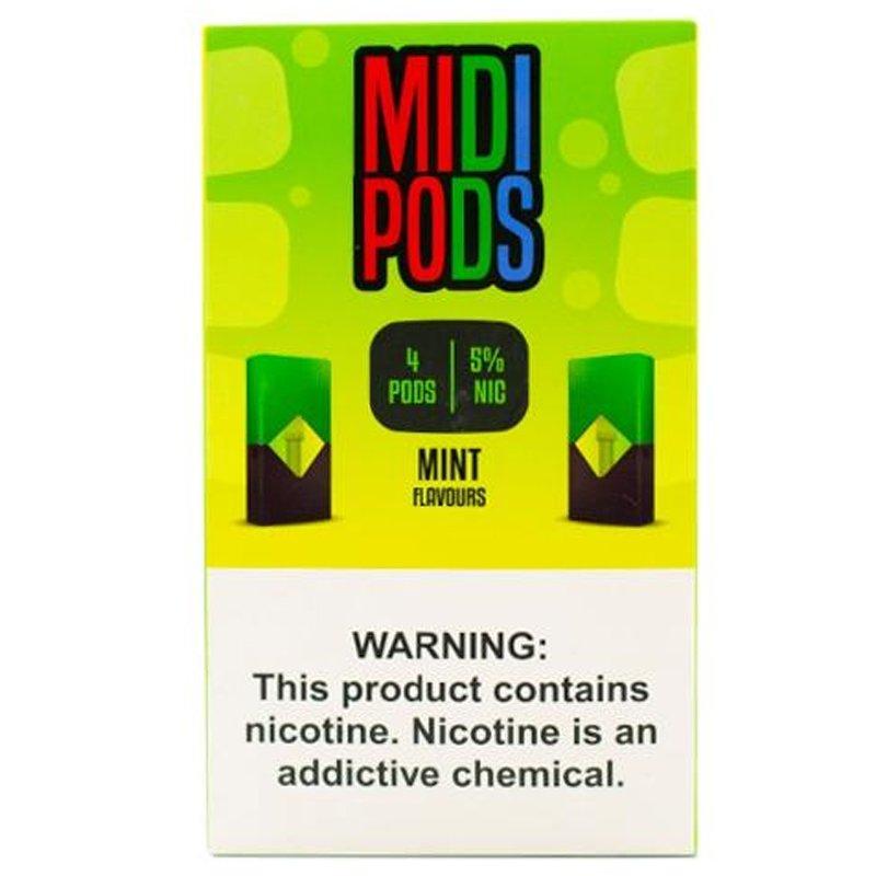MIDI PODS - Pods Compativeis com Juul - 5%  Mint