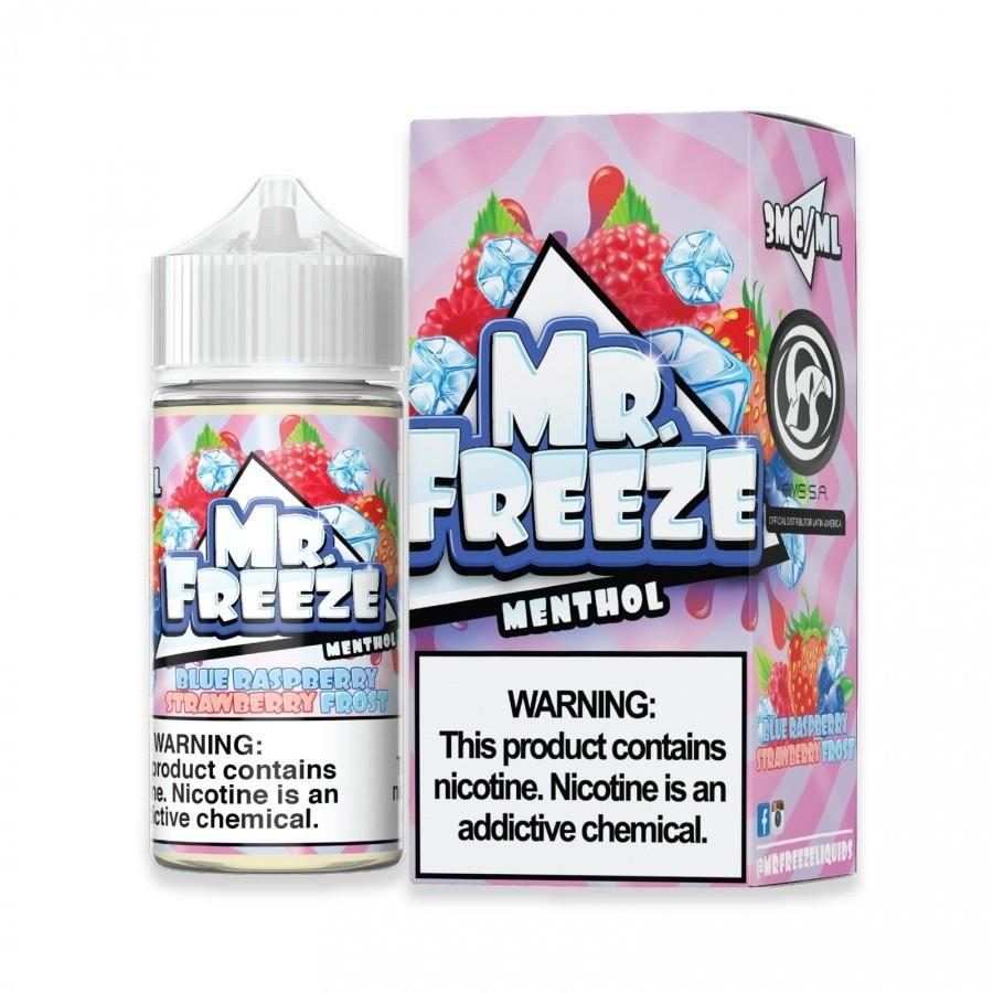 MR FREEZE - Blue Raspberry Strawbery Frost  100ml