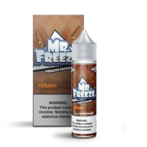 MR FREEZE - Cubano Tobacco 60ML