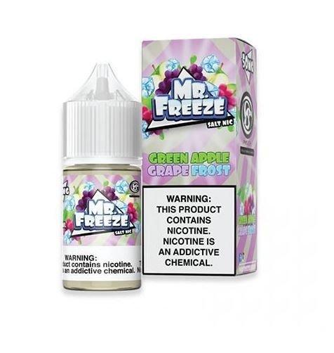 MR FREEZE - Green Apple Grape Frost Salt 30ml