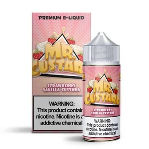 MR FREEZE - Strawberry Vanilla Custard 100ML