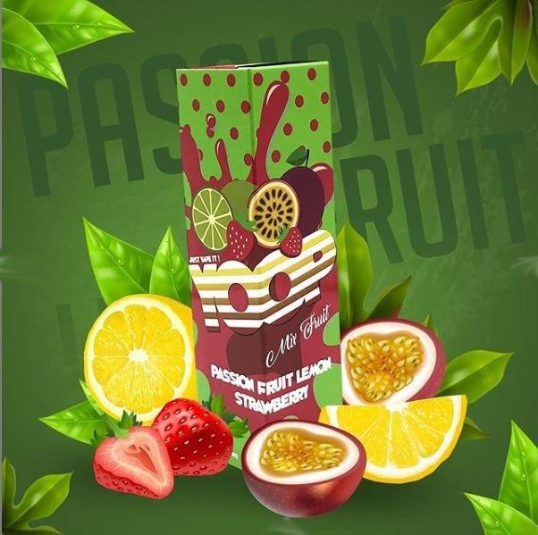 MR YOOP - Passion Fruit Lemon Strawberry 60ml