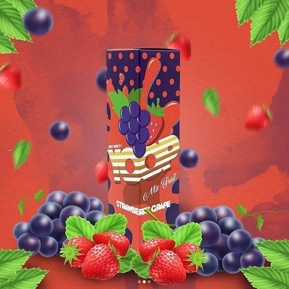 MR YOOP - Strawberry Grape 60ml