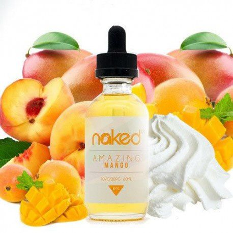 NAKED100 - Amazing Mango 60ML