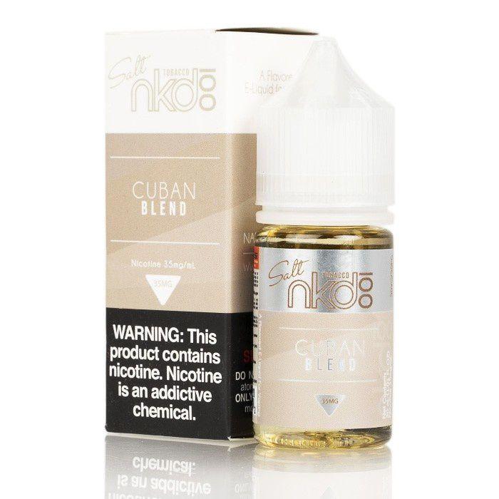 NAKED - Cuban Blend Salt 30ML