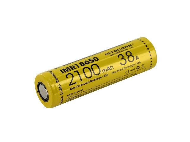 NITECORE - Bateria 18650 - 2100 mAh