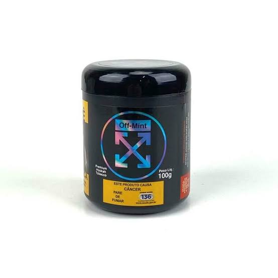 OFF MINT - Intense Mint 100g (P/ NARGUILE)