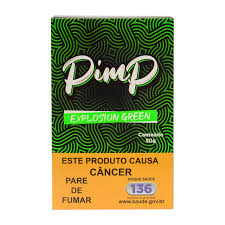 PIMP - Explosion Green 50g (P/ NARGUILE)