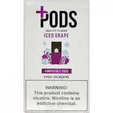 PLUS PODS - Iced Grape ( Compatível Jull)
