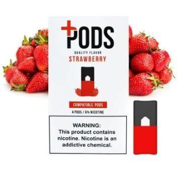 PLUS PODS - Strawberry ( Compatível Jull)