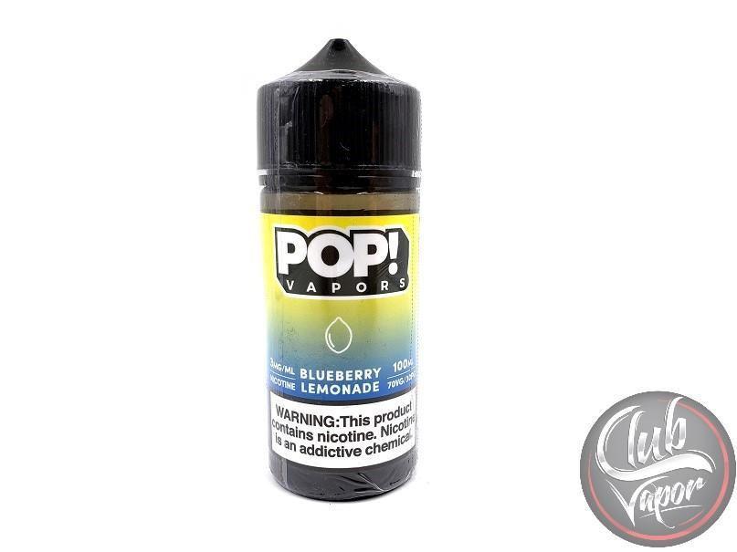 POP VAPORS - Blueberry Lemonade 100ml