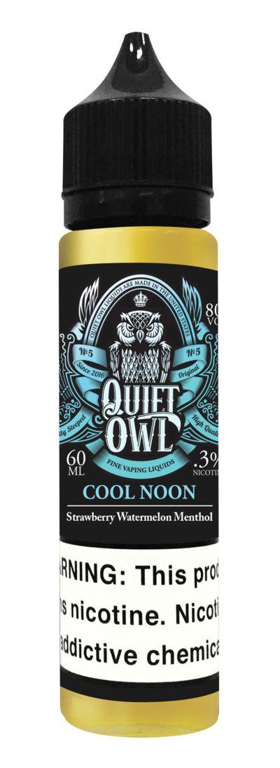 QUIET OWL - Cool Noon 60ML (DRIPPER)