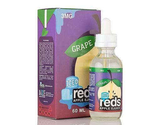 REDS APPLE - Grape Iced 60ML