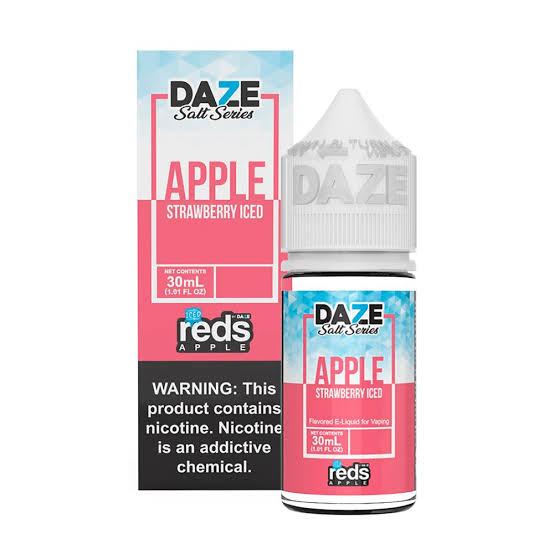 REDS - Apples Strawberry Iced Salt 30ml