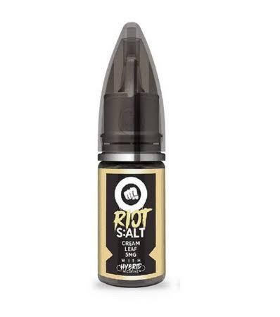 RIOT SQUAD - Cream Leaf Salt 30ml