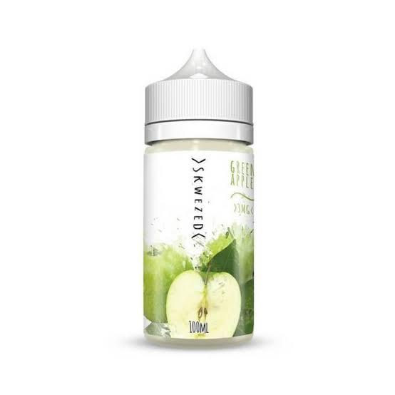 SKWEZED - Green Apple 100ML