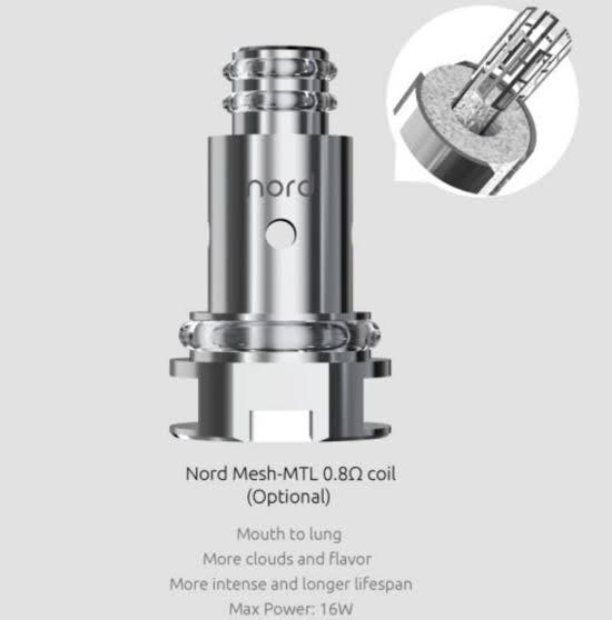 SMOK - Coil Regular 0.8ohms (NORD - 1 UNIDADE)