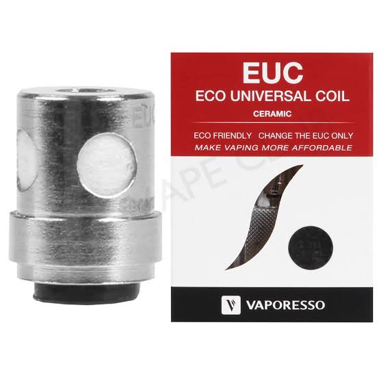 VAPORESSO - EUC Coil Universal Coil 0.3 ohms  (Cerâmica)