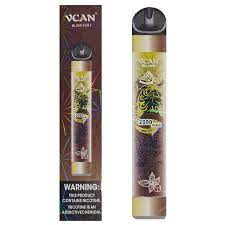 VCAN - Watermelon Ice e Mint Ice (2 SABORES - 2000 puffs)