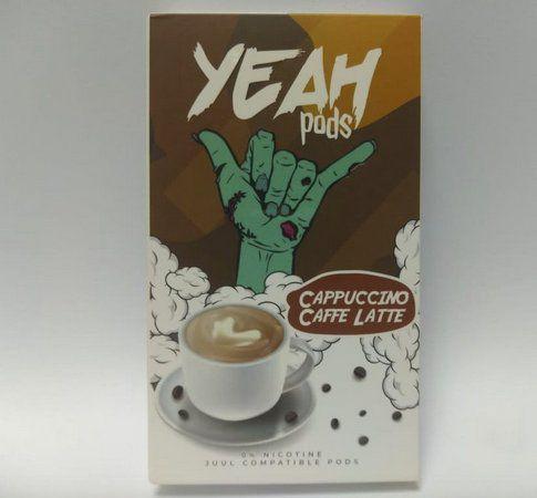 YEAH PODS - Capuccino Caffe Latte (Compatível com Juul)