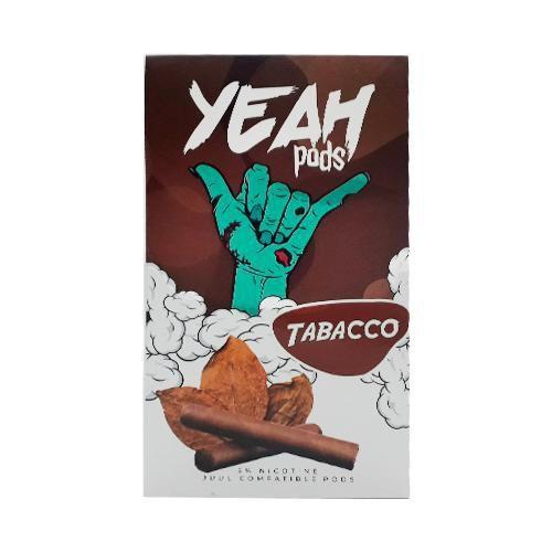YEAH PODS - Tabacco (Compatível com Juul)